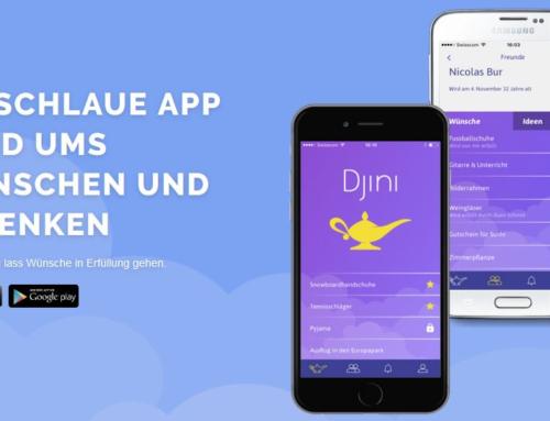 Mobile-Applikation Djini