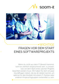 PDF mit Fragen Softwareprojekte