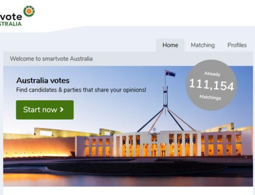 Smartvote Australia lanciert